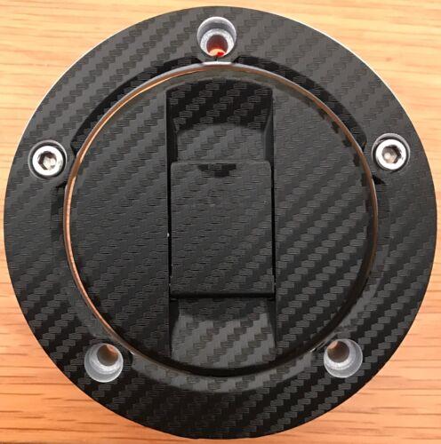 Suzuki GSXR Carbon Look Fuel Cap Pad Sticker For SUZUKI Fits Multiple Models