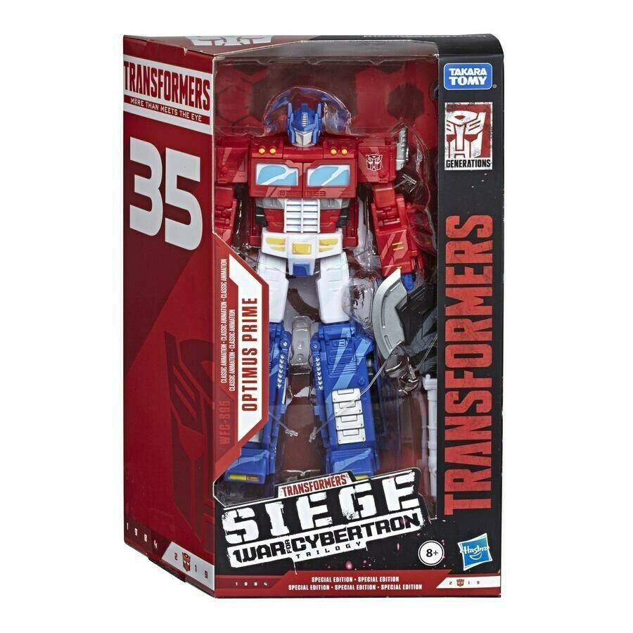 Transformers Siege 35th Anniversary WFCS65 Animation Voyager Optimus Prime