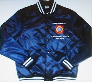 COAST-GUARD-STATION-CORTEZ-FL-EMBROIDERED-1-SIDED-SATIN-JACKET