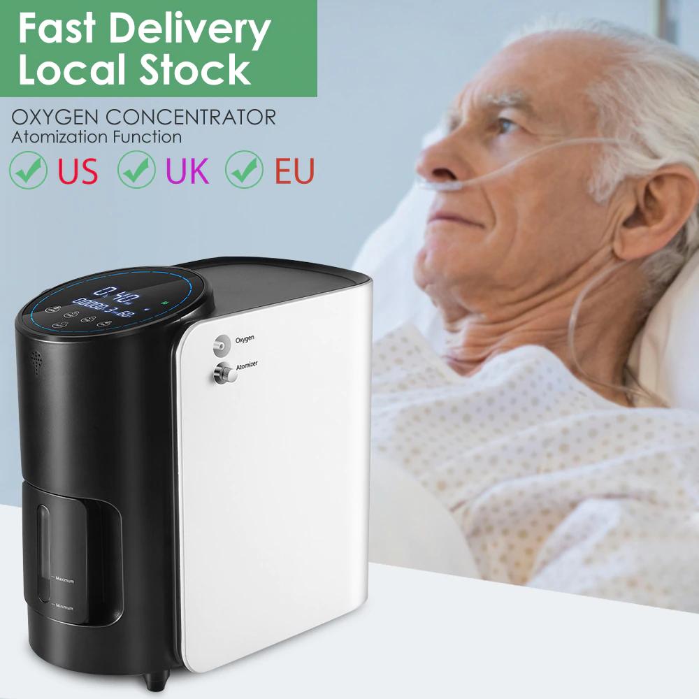 Mini Using Oxygen Concentrator Machine Portable Oxygen Generator 3L/min for  sale online | eBay