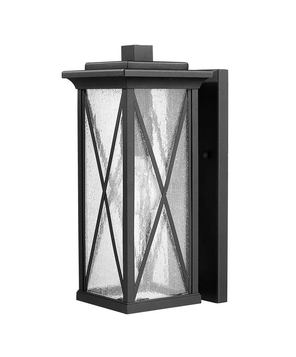 Luz De Parojo De 1 Luz Negro Cruz al aire libre 13  H X 6  W Actualizado Moderno Puerta Frontal 10