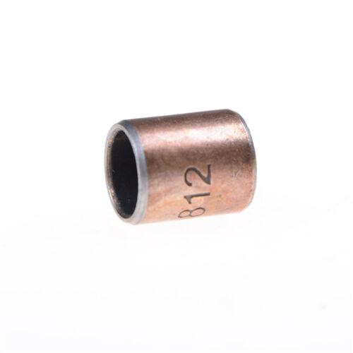 10PCS Wear-Resisting SF-1 Self Lubricating Bearing Bushing 8x10x12mm  s!