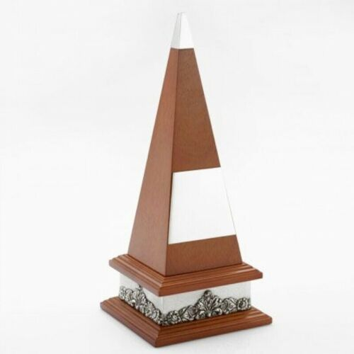 Details about  /Royal Selangor Wooden And Pewter Pyramid Trophy Large Size  **FREE DELIVERY**