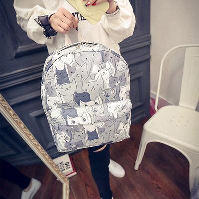 Japanese Game Neko Atsume ねこあつめ Cute Cat School Bag Shoulder bag Backpack Gift