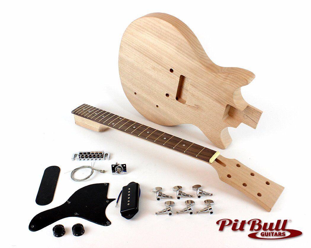 Pit Bull Guitars JRM-1DC Electric Guitar Kit