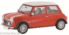 Schuco MINI COOPER in Red / White - 1/64 scale model