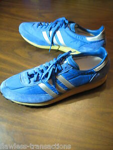 Image is loading Vintage-1970s-ADIDAS-TRX-Trainer-Vtg-Retro-Shoes-