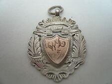 Silver Pocket Watch Fob/Medal, Sterling, Rose Gold, c.1920.