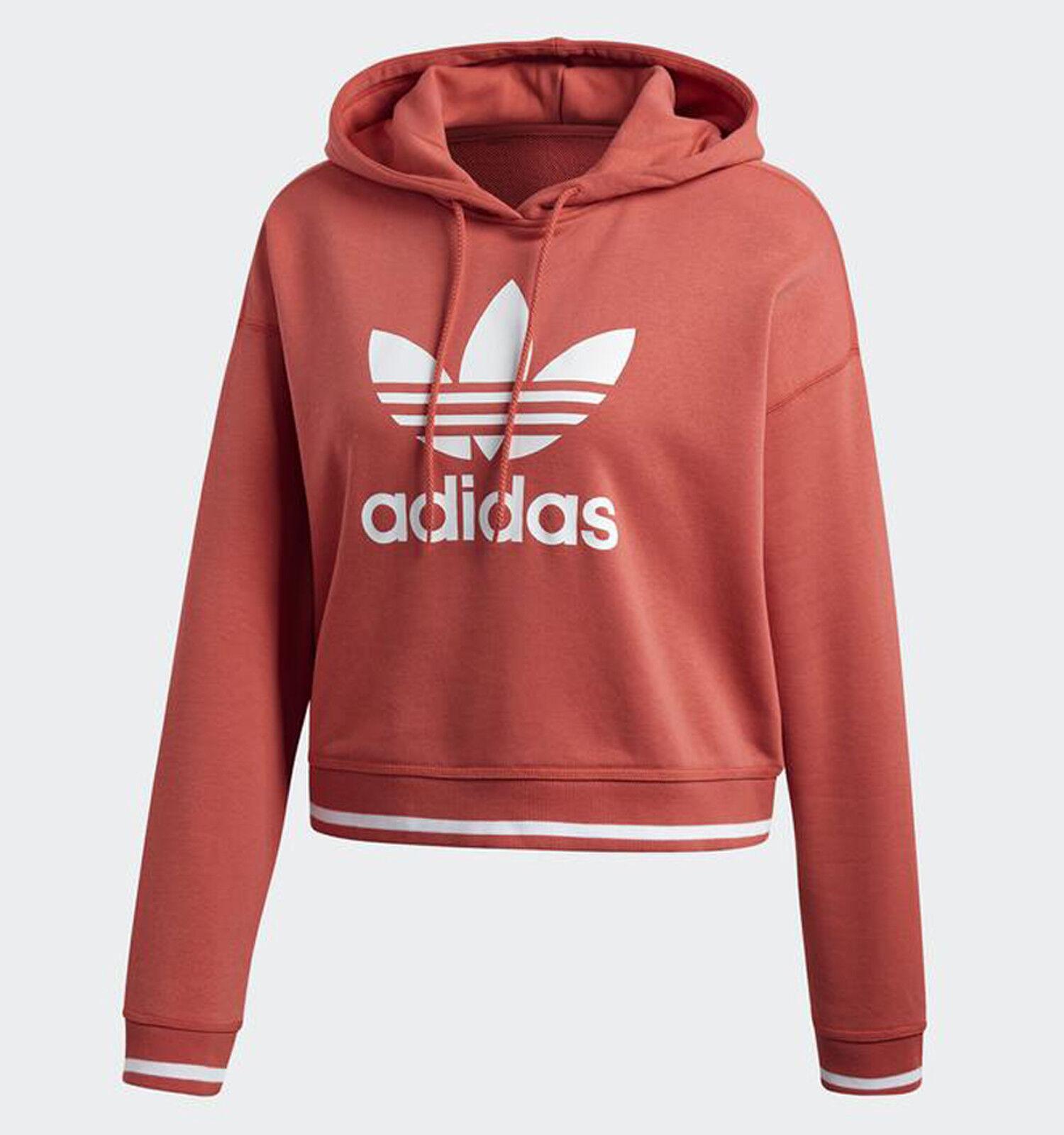 ec51e2056 ACTIVE Women's Originals Adidas ICON White c DH2944 Scarlet Hoodie ...