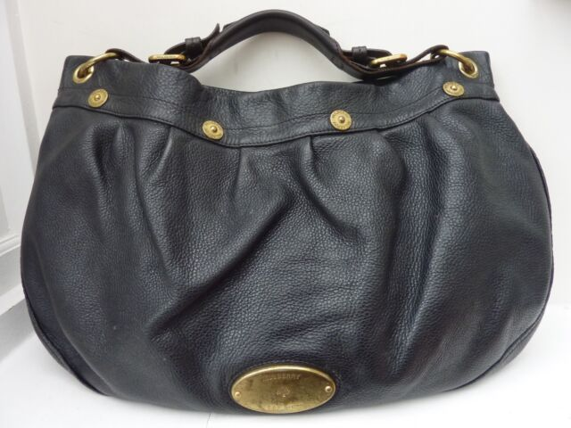 9a1c457582 MULBERRY East West Mitzy Hobo Bag - £695 - Black Leather - Authenticated  REDUCED