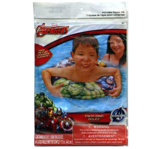 Pool Beach Ball Marvel Avengers Iron Man Thor Sling Bag Arm Floats Swim Ring
