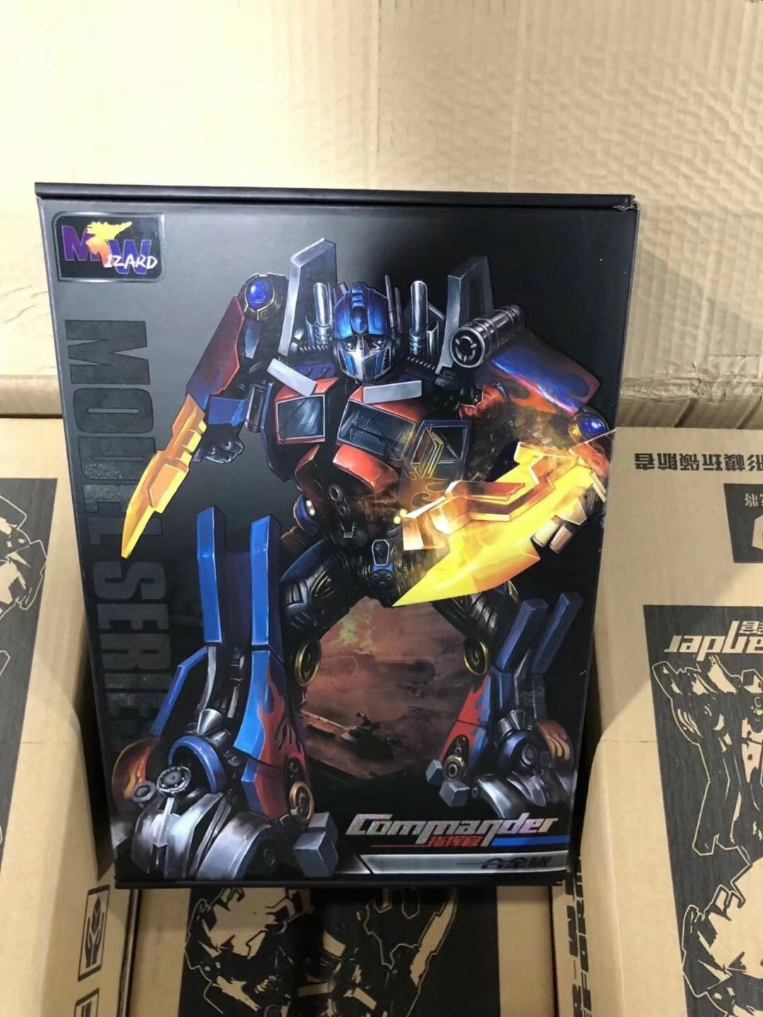 Weijiang Robot Oversized Movie SS05 Alloy MPM04 Optimus Prime Nuovo