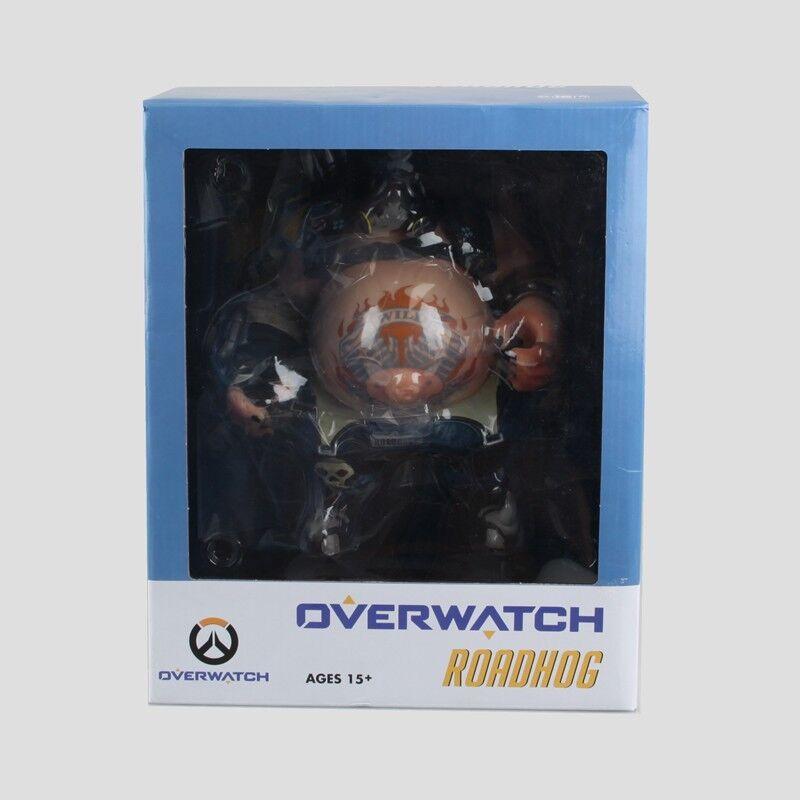 11 Overwatch OW ROADHOG Figure PVC Decoration Figurines Statue Toy Model NIB