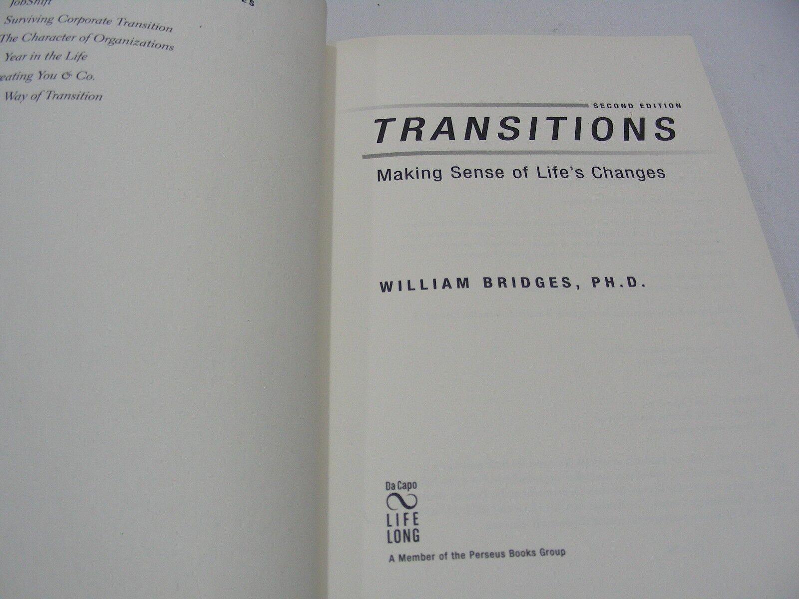 transitions making sense of lifes changes english edition