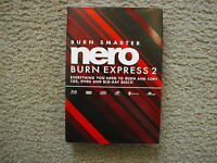 Nero Burn Express 2, Burn & Copy Cd Dvd Blu-ray Disc, Sealed Retail Box
