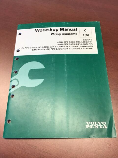 Volvo Penta Workshop Manual Wiring Diagrams 7745609