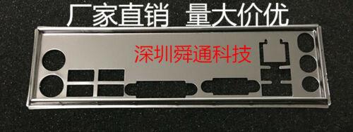 IO I//O Shield Back Plate BackPlate Blende for MSI H61M-P20 G3 B75MA P45