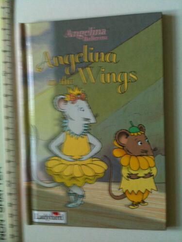 1 of 1 - Angelina in the Wings ANGELINA BALLERINA Book (Ladybird) BALLET STORIES 5+
