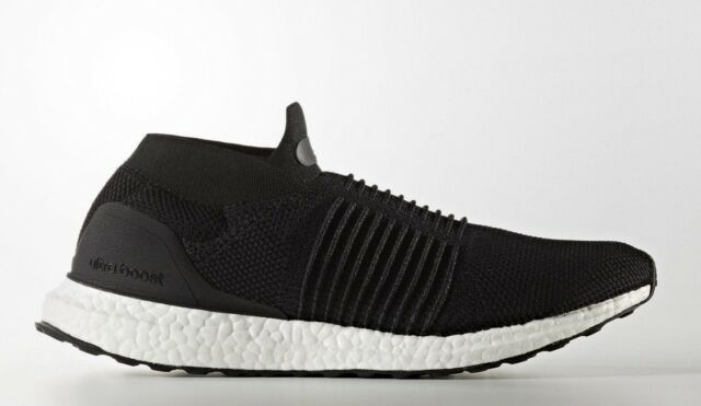 4d90e15f7d354 Mens adidas Ultra Boost Laceless Core Black White S80770 US 8 for ...