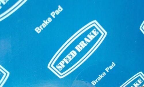 09.97-12.09 REAR BRAKE PAD SET YS3E FOR 9-5 SALOON