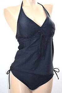Bien Platja Tankini 2 P. Tailles M/fr40/eu38 & L/fr42/eu40 Couleur Noir '045-noir Uni Bonne Conservation De La Chaleur