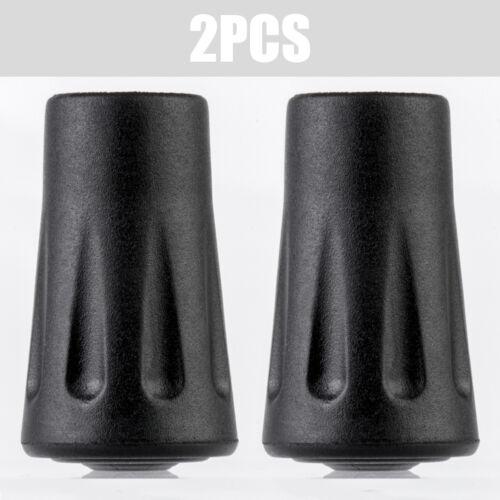 Walking Stick Caps Pack Alpenstock Rubber Head Cover Tips End 2//4Pcs Practical
