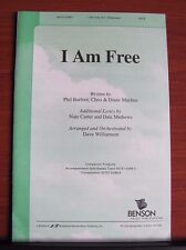 I Am Free by Barfoot, Machen - 2000 sheet music Gospel- SATB Vocal Piano
