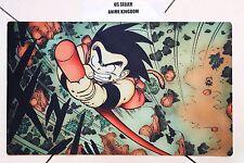Custom Yugioh Playmat Play Mat Large Mouse Pad Dragon Ball Z Little Goku #636