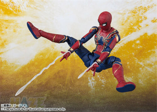 S.H Figuarts SHF The Avengers 3 Infinite Guerre Iron Spider-Man Movable Figure Toy