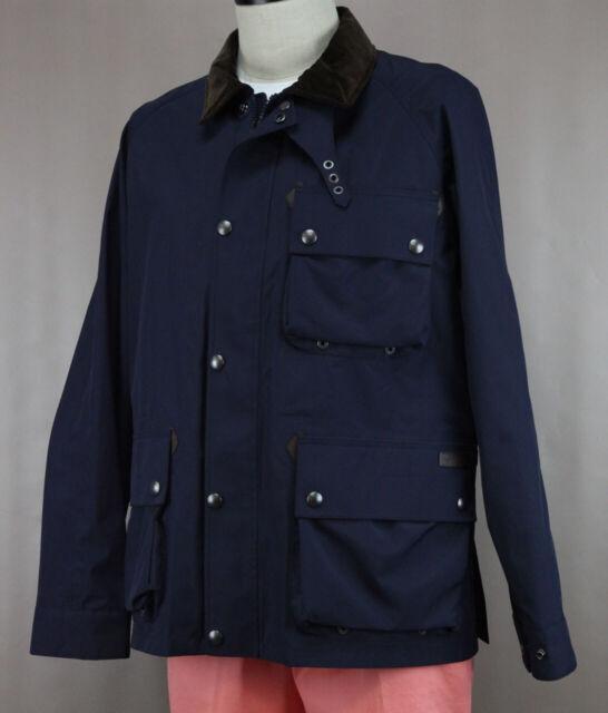 verschiedene Farben beste Angebote für Räumungspreise Polo Ralph Lauren Men's Navy Lightweight Utility Windbreaker Jacket Ret  $495 New