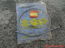 Suzuki T20 Clutch Cable 1969 NOS TC250 CLUTCH WIRE 58200-11000 Grey Color Cable