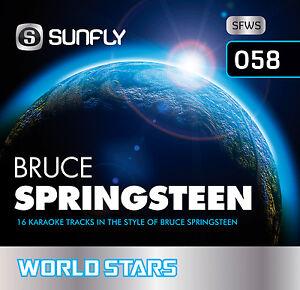 BRUCE-SPRINGSTEEN-VOL-1-SUNFLY-KARAOKE-CD-G-16-HITS