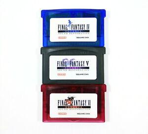 Final-Fantasy-IV-V-VI-4-5-6-Advance-Sound-Restoration-for-Gameboy-Advance-GBA