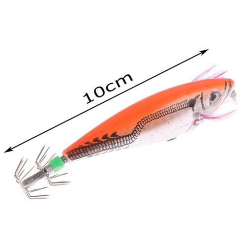 Details about  /Fishing Lure Squid Hook With Crane Swivel Wobblers Jigs Octopus Cuttlefish uW.