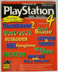 Prima-039-s-PlayStation-Game-Secrets-Unauthorized-Vol-4-Tips-amp-Cheat-Codes-143-Pgs
