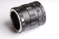 Macro Extension Tube 3 Ring Set for Canon EOS EF EF-S mount DSLR SLR 5D 7D New