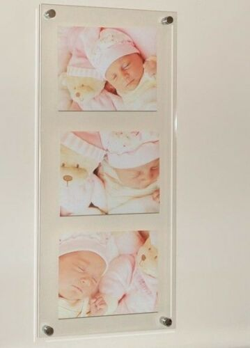 8x10  Cheshire Acrylic wedding,baby newborn Picture photo multi frame 10 x 8