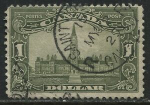 Canada 1929 definitive $1 Parliament used