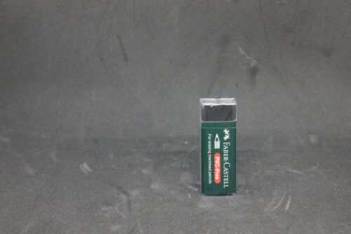Black Faber Castell Eraser High Quality Eraser PVC FREE Comfort Edge
