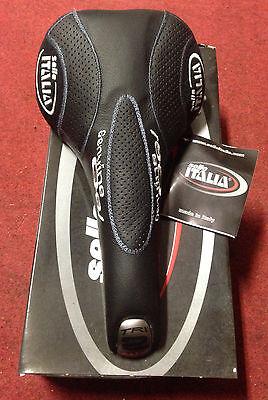 Sella bici Selle Italia Nitrox bike saddle fahrradsattel manganese gel vintage