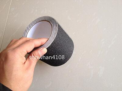 10cmx5m Grey Anti Slip Non Skid Tape Sticker for Stair Floor Bathroom Kitchen