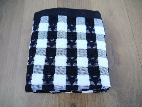 Dorchester 100/% Egyptian Cotton Luxury Tea Towel Black