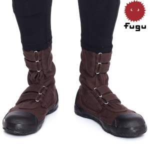 ee378139dee Details about Brown Fugu Sa-Me Unisex Japanese Work Shoes & Boots. Perfect  Burning Man Shoes