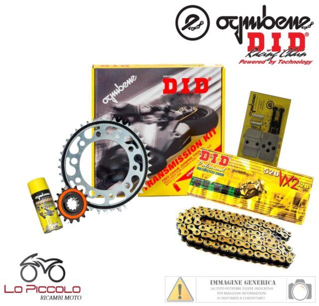 KIT TRASMISSIONE PREMIUM DID CATENA CORONA PIGNONE KTM EXC 520 2000 2001