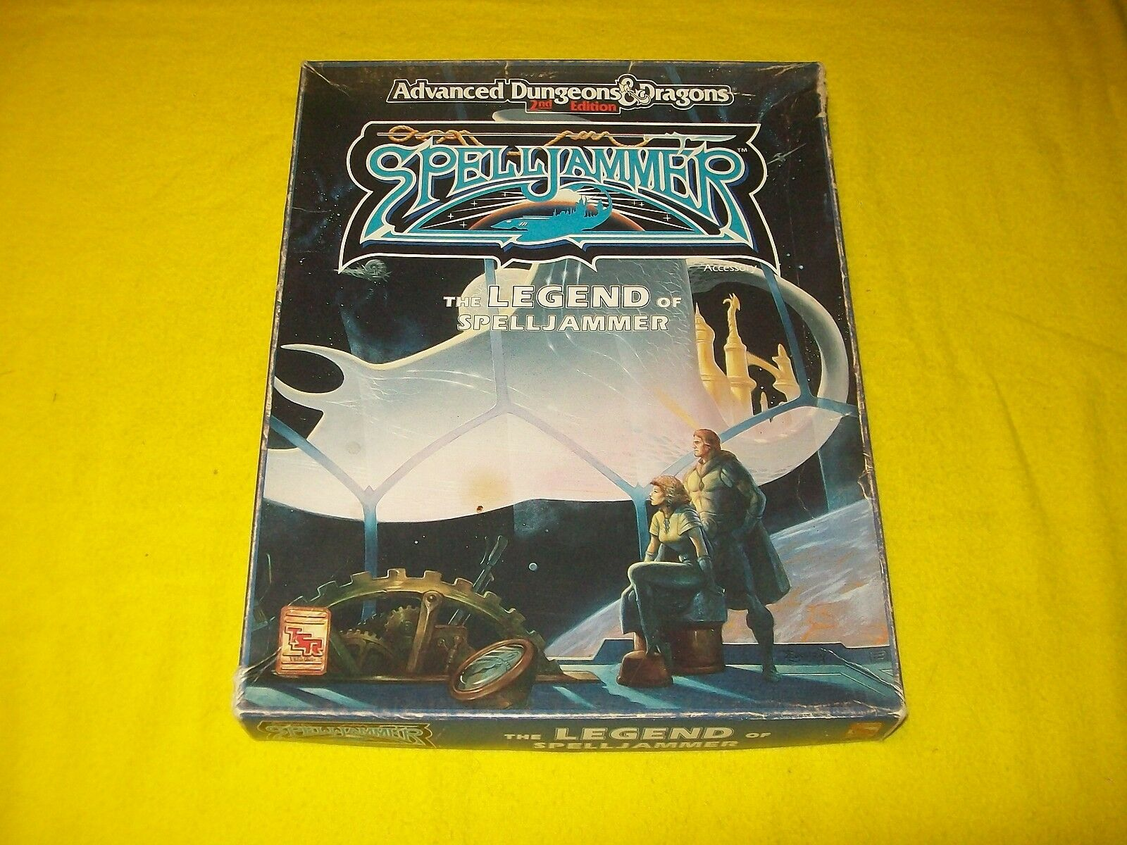 THE LEGEND OF SPELLJAMMER DUNGEONS & DRAGONS AD&D 2ND EDITION TSR 1065 - 1