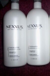 Nexxus-Replenish-Therappe-Humectress-Shampoo-Hard-to-Find-White-1-L-Bottles
