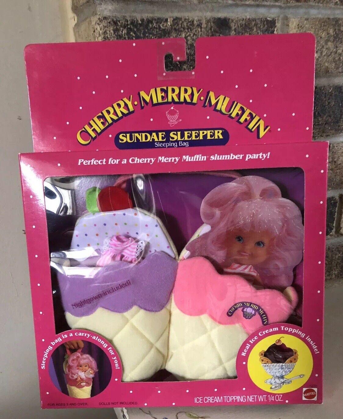 Nunca quitado de la Caja Cereza Merry Muffin Sundae durmiente