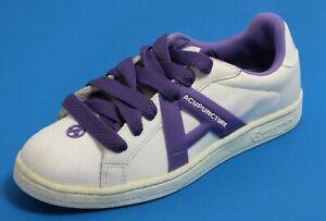 483 Schnür Damenschuhe Schnürung Sneaker Acupuncture lila 39,5