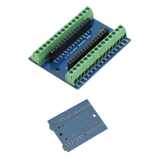 Nano Terminal Adapter for the Arduino Nano V3.0 AVR ATMEGA328P-AU AM
