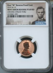 2019 W Penny NGC PF69 RD Ultra Cameo First Releases Lincoln Portrait LIVE !!